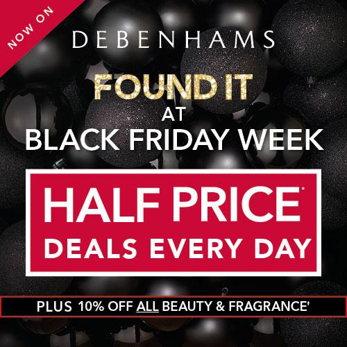 Debenhams Black Friday