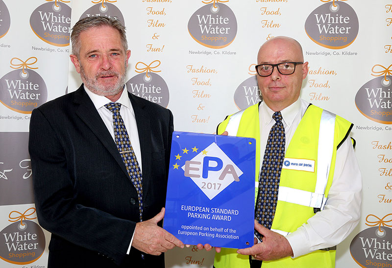Whitewater Shopping Centre Car Park Picks Up Prestigious European